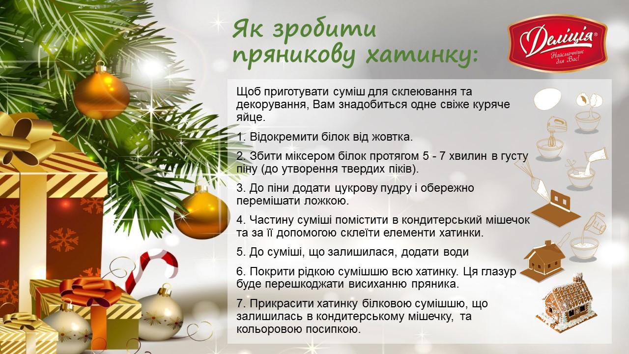 Новогодний подарок Делиция Пряничный домик 790г